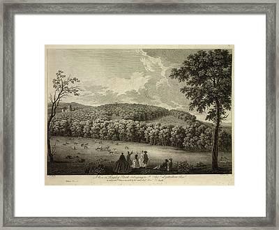Hagley Park Framed Print by British Library