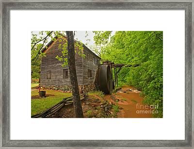 Hagood Grist Mill Creek Framed Print