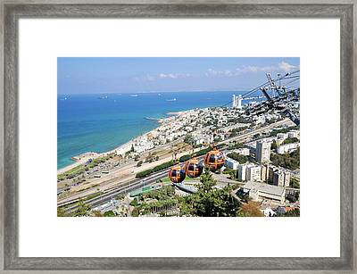 Haifa Framed Print by Photostock-israel