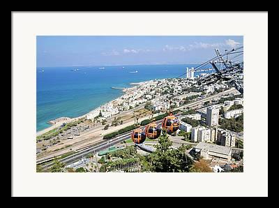 Aerial Tramway Framed Prints