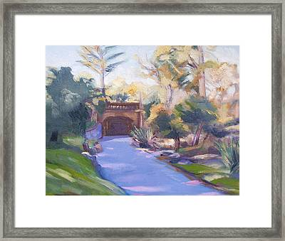 Haight Street Underpass Framed Print