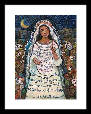 Rosary Framed Prints