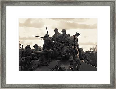 Hail To The Victors Framed Print