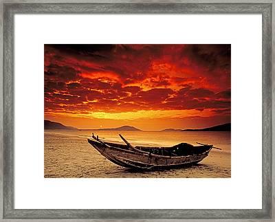 Hainan Beach 3 Framed Print by Dennis Cox ChinaStock