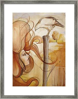 Hair And Thhawke  Framed Print