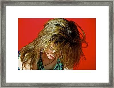 Hair Framed Print by Roberto Galli della Loggia