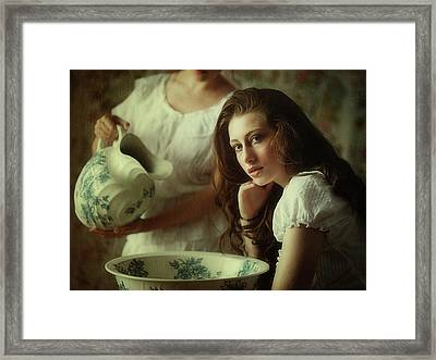 Hair Wash Day Framed Print