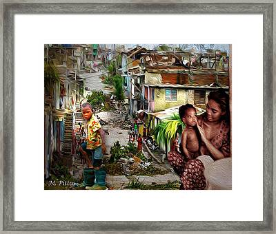 Haiti On My Mind Framed Print