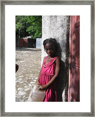 Haitian Princess Five Framed Print by Bob Snyder
