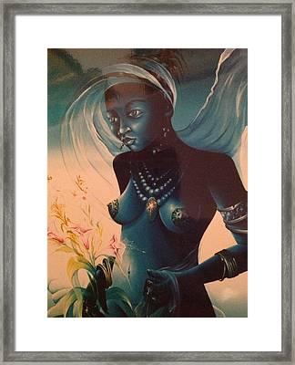 Haitian Woman Framed Print