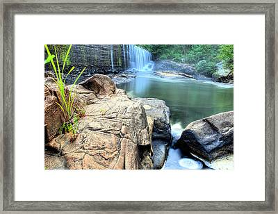 Halawaka Creek Framed Print