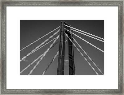 Hale Boggs Memorial Bridge Framed Print by Andy Crawford