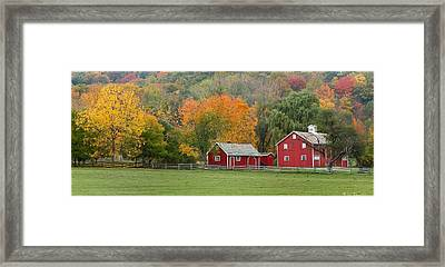 Hale Farm And Village Framed Print by Daniel Behm