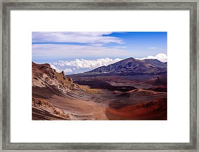 Haleakala Crater Framed Print