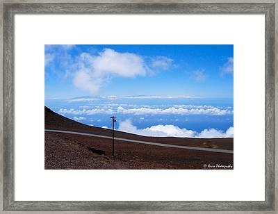 Haleakala's Heaven Framed Print