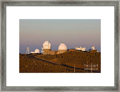 Haleakala Observatory, Hawaii Framed Print