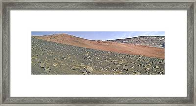 Haleakala Pano Two Framed Print by Peter J Sucy