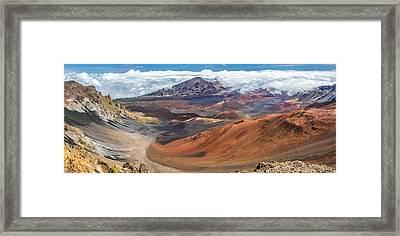 Haleakala Volcano On Maui Hawaii Framed Print by Pierre Leclerc Photography