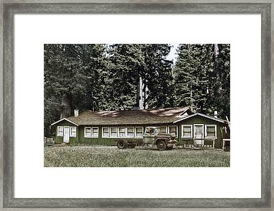 Hales Grove Ca Trapped In The Past Framed Print by Christine Till