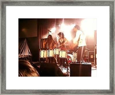 Halestorm Framed Print by Amanda Robinson