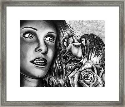 Haleys Apparition Framed Print by Peter Piatt