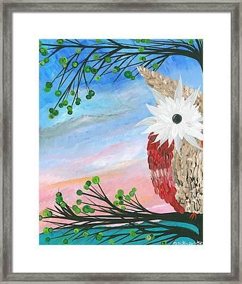 Half-a-hoot 03 Framed Print
