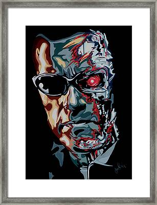 Half Arnold Framed Print by Ian  King