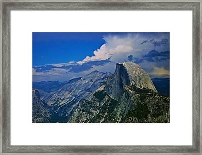 Half Dome From Glacier Point Framed Print by Eric Tressler