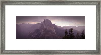 Half Dome From Glacier Point Framed Print