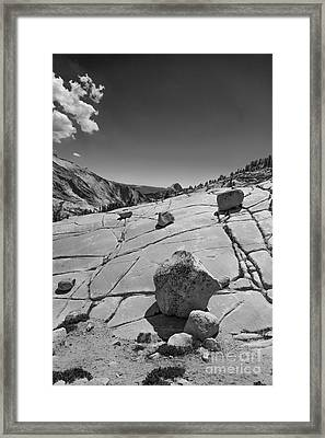 Half Dome From Olmsted Point Framed Print