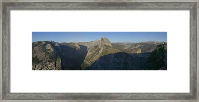 Half Dome Framed Print by Gary Lobdell