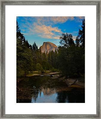 Half Dome In Yosemite Framed Print by Alex King