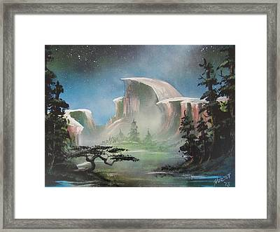 Half Dome Framed Print by Jim Hurst