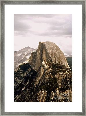 Half Dome Framed Print by Kathleen Struckle