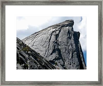 Half Dome Trail Framed Print