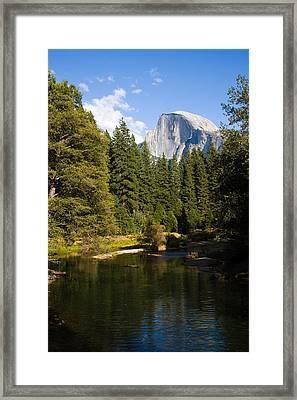 Half Dome Yosemite National Park Framed Print