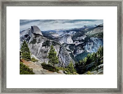 Half Dome Yosemite Framed Print by Paddrick Mackin
