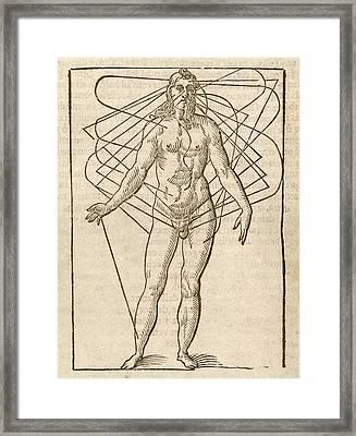 Half-man Half-woman Framed Print