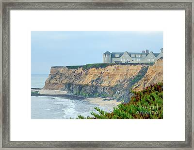 Half Moon Bay Framed Print by Betty LaRue
