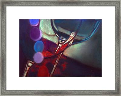 Half Price Wine Night Framed Print by D Rogale