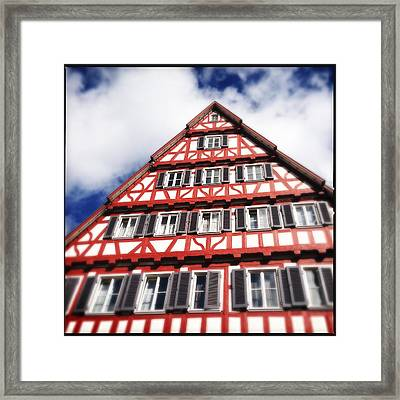 Half-timbered House 06 Framed Print