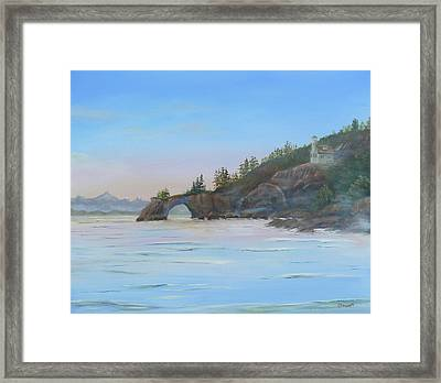 Halibut Cove Framed Print