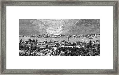Halifax Ns - 1878 Framed Print