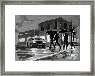 Halifax Untitled Number Five  Framed Print by John Malone