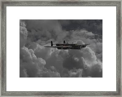 Halifax - Ww2 Heavy Bomber Framed Print