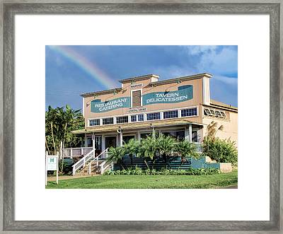 Framed Print featuring the photograph Haliimaile General Store 1 by Dawn Eshelman