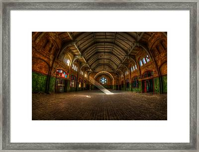Hall Beam Framed Print