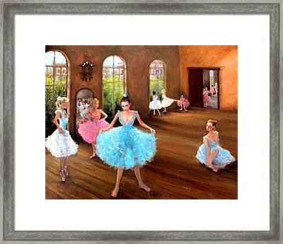 Hall Of Dance Framed Print by Graham Keith