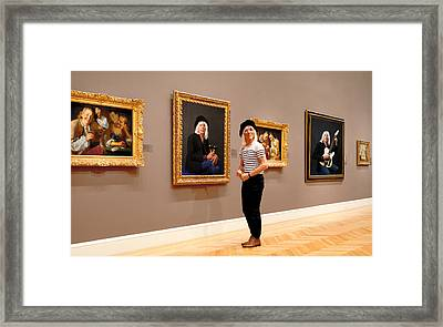 Hall Of Fame Framed Print by Daniel Furon