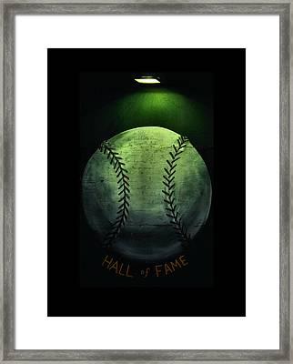 Hall Of Fame Framed Print by Karen Scovill
